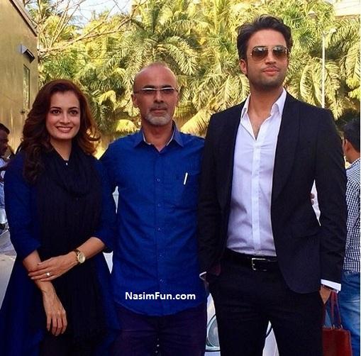 عکس خصوصی محمدرضا گلزار و دیا میرزا در سلام بمبئی