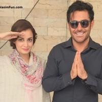 دانلود فیلم ازدواج محمدرضا گلزار با دیا میرزا هندی