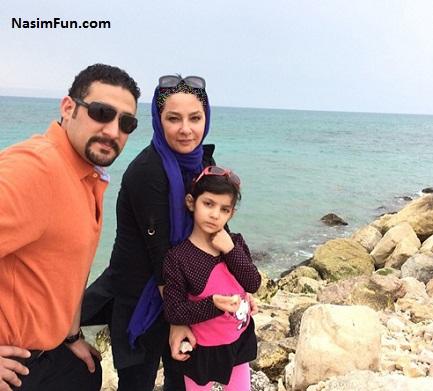 عکس جدید لاله صبوری و همسرش پویا نظری