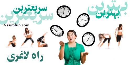 رژیم لاغری سریع 3 روزه برای عید نوروز 95
