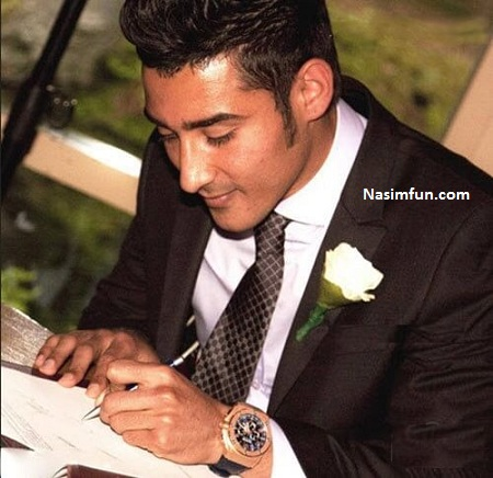عکس مراسم ازدواج رضا قوچان نژاد با سروین بیات