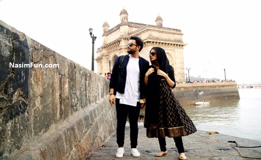 عکس شایلی همسر دوم بنیامین در فیلم سلام بمبئی