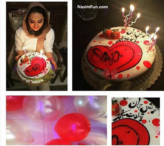 عکس های جشن تولد 30 سالگی نرگس محمدی