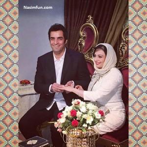 عکس ازدواج و عروسی یکتا ناصر با منوچهر هادی