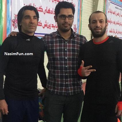 دانلود فیلم امیر تتلو در تمرین تیم وحید شمسایی