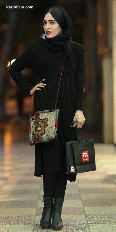 عکس بازیگران زن در فروشگاه زنجیره ای میثم عطار