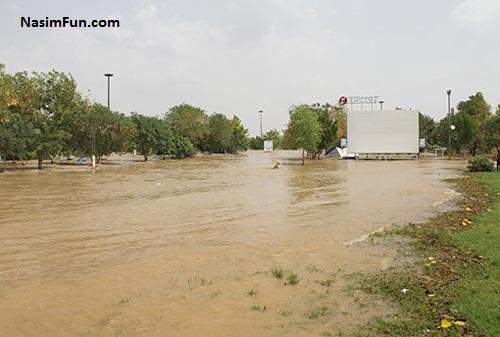 عکس جدید سیل خوزستان و سیل دزفول 26 فروردین 95