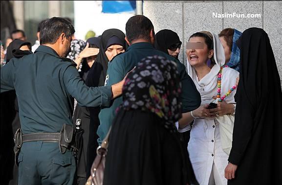 عکس دور جدید گشت ارشاد در تهران امروز 28 فروردین 95