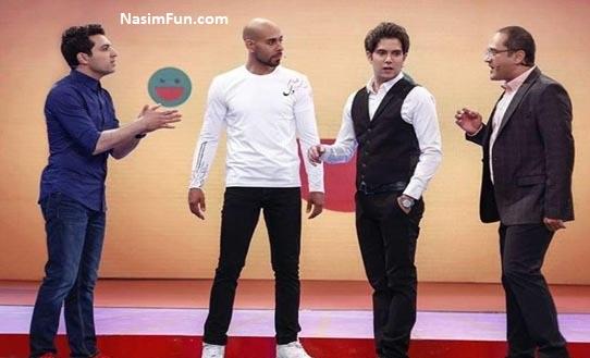 امیر علی نبویان نفر اول و برنده لباهنگ خندوانه شد + عکس