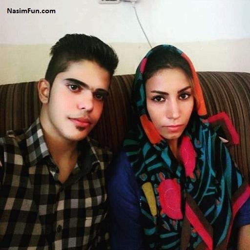 عکس قاتل ستایش و دوست دخترش