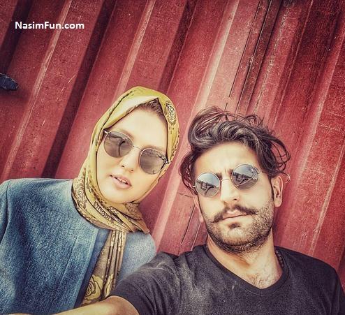 عکس های شخصی گلوریا هاردی و همسرش فروردین 95