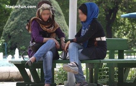 شیوه جدید بی حجابی در تهران فروردین 95 + عکس
