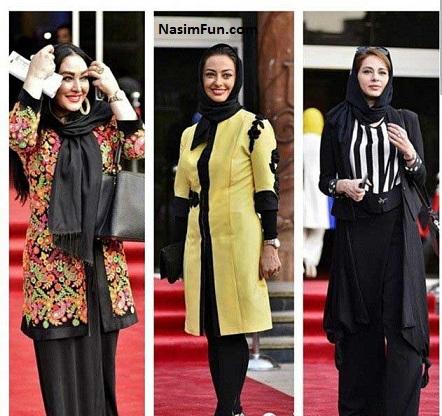 عکس های مدل مانتو بازیگران زن ایرانی اردیبهشت ۹۵
