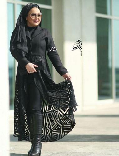 عکس های مدل مانتو بازیگران زن ایرانی اردیبهشت 95