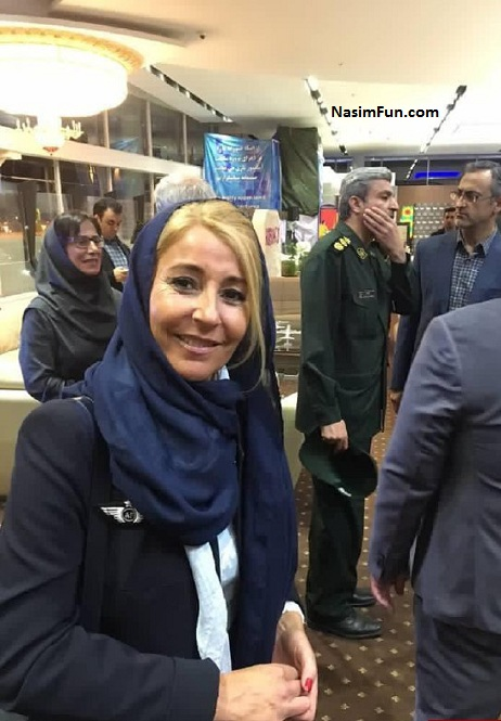 عکس تیپ حجاب مهمانداران زن ایرفرانس در ایران