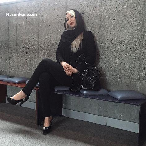 عکس ملیکا جواهریان گرگینه همسر امیر تتلو + بیوگرافی