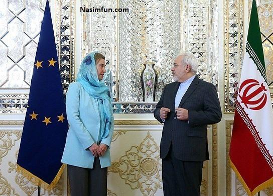عکس تیپ حجاب فدریکا موگرینی در تهران 28 فروردین 95