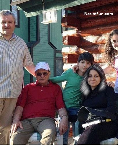عکس مژگان شجریان و پدرش محمدرضا شجریان بعد از بیماری