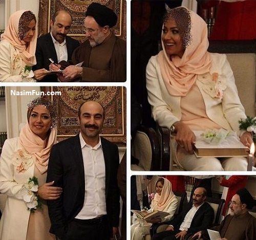 عکس جشن تولد محسن تنابنده در کنار همسرش روشنک