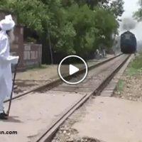 دانلود فیلم توقف قطار توسط مرتاض هندی + عکس