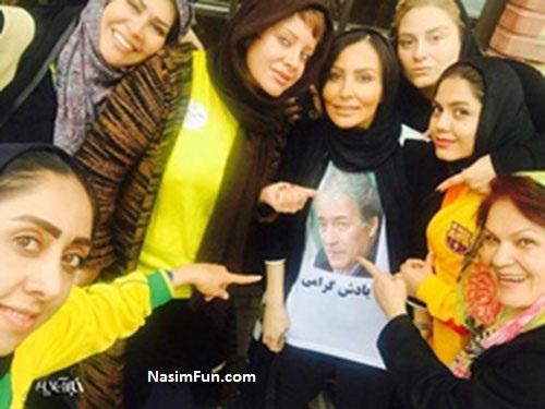 دانلود فیلم گریه پرستو صالحی بعد از باخت 4 تایی استقلال