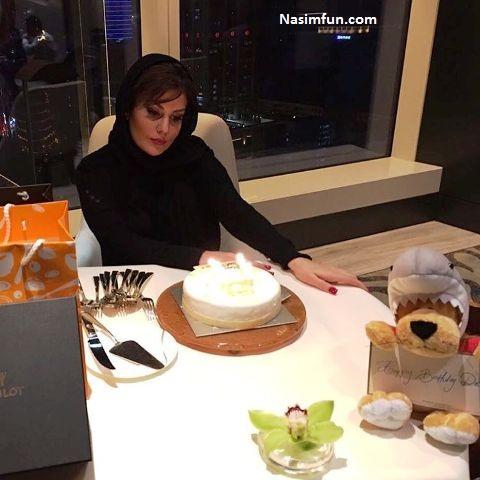 عکس جشن تولد 34 سالگی رز رضوی + بیوگرافی