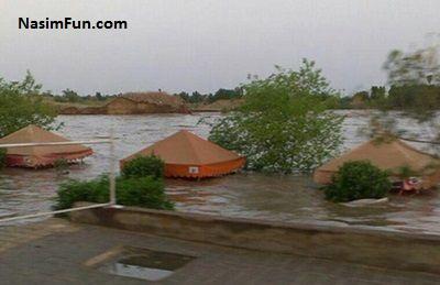 دانلود فیلم سیل در خوزستان و شهر دزفول 26 فروردین 95