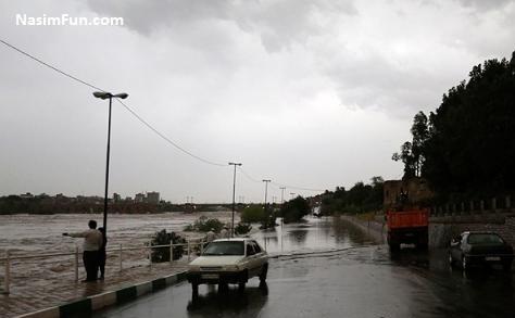 آخرین اخبار سیل خوزستان و دزفول 28 فروردین 95 + عکس