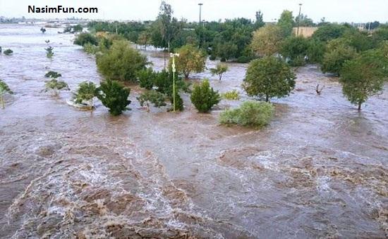 آخرین اخبار سیل در خوزستان و کشور 27 فروردین 95 + عکس
