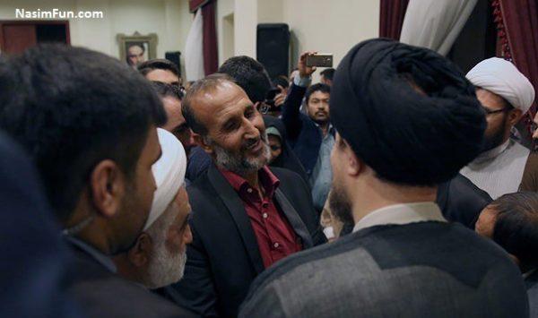 عکس ملاقات پدر ستایش قریشی با سید حسن خمینی