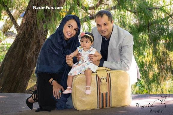 عکس های شخصی شبنم قلب خانی و همسر و فرزندش