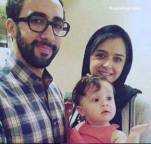 عکس ترانه علیدوستی بازیگر سریال شهرزاد و همسرش