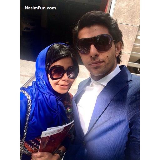 عکس و بیوگرافی وحید طالب لو و همسرش سوگل
