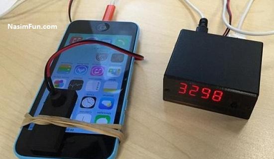 هک گوشی آیفون فقط در چند ثانیه + عکس