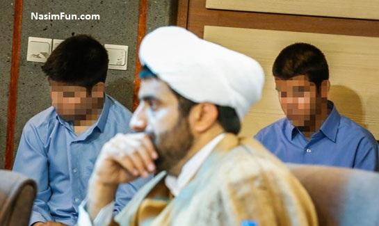 عکس های جدید قاتل ستایش در دادستانی 12 اردیبهشت 95