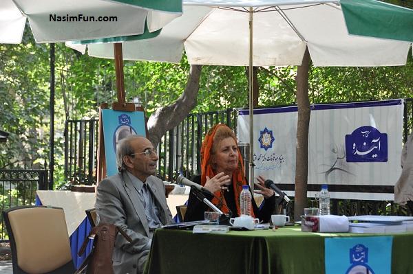 عکس پروفسور پرویز کردوانی و همسرش فریده گلبو