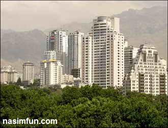 قیمت آپارتمان در تهران 95