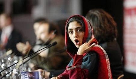 ویدئو بی احترامی گلشیفته فراهانی در شبکه بی بی سی به مردم