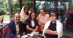 عکس های جنجالی لورفته از مصطفی زمانی در جشنواره فیلم ترکیه