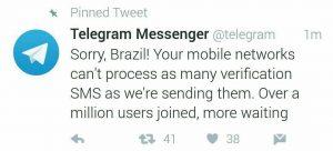 شاخ و شونه کشیدن تلگرام برای واتس آپ