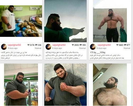 تصاویر جوان تنومند ایرانی که به اشتباه داعشی معرفی شد