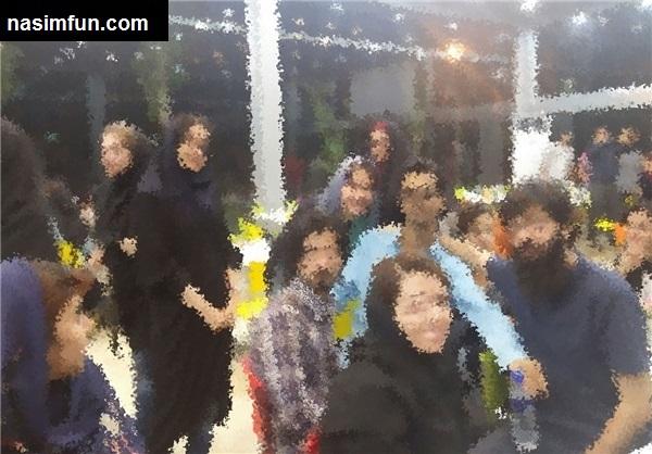 افطاری مختلط در دانشگاه امیرکبیرتهران+عکس