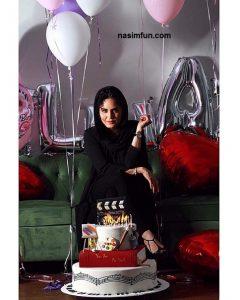 عکس جدید جشن تولد ۳۲ سالگی الناز شاکردوست