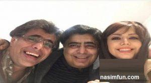 عکس جدید رضا شفیعی جم به همراه خواهر و برادرش+بیوگرافی