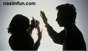 رسم عجیب کتک زدن زن قبل از افطار در ماه رمضان