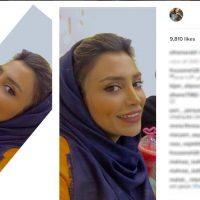 """فعالیت دوباره مدلینگ معروف """"الهام عرب"""" در اینستاگرام +تصاویر"""