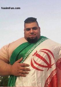 """رجزخوانی سجاد  غریبی """"جوان تنومند ایرانی"""" برای سعودیها+عکس"""