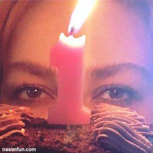 جشن 1سالگی حضور آنا نعمتی در اینستاگرام! +عکس