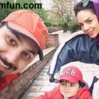 احسان خواجه امیری و همسرش در مراسم عقدشان!+عکس