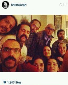 عکس های داغ از اینستاگرام بازیگران ایرانی